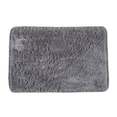 Fluffy Rugs Anti Skid Shaggy AreaHome Bedroom Carpet Floor Mat Gray