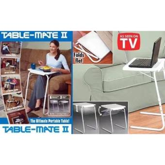 Foldable and Adjustable Multi-Purpose Table Mate II