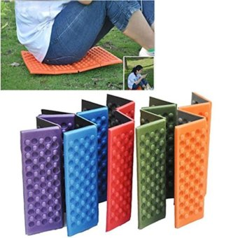 Foldable Folding Outdoor Camping Mat Seat Foam XPE Cushion PortableWaterproof Chair Picnic Mat Pad 5 Colors send in random - intl - 2