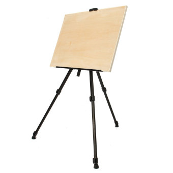 Folding Painting Easel Artist Telescopic Field Studio Tripod Display Stand - intl - 3