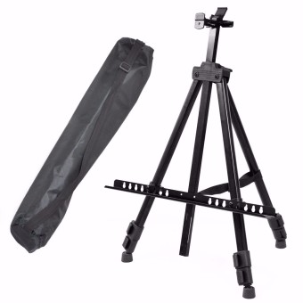 Folding Painting Easel Artist Telescopic Field Studio Tripod Display Stand - intl