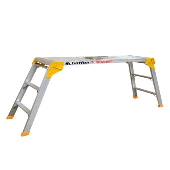 Folding Working Platform TGS-ALU6063T5 (Silver/Orange)