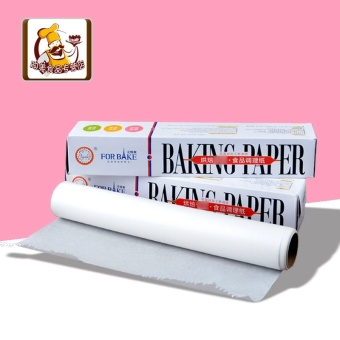 For bake Oil Resistant anti-stick HIGH-TEMPERATURE resistant conditioning packaging paper greaseproof paper