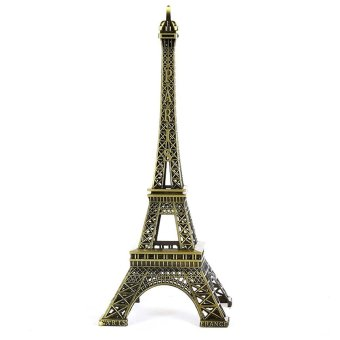 France Paris Eiffel Tower Statue Figurine Vintage Alloy Decor(32cm) Price Philippines