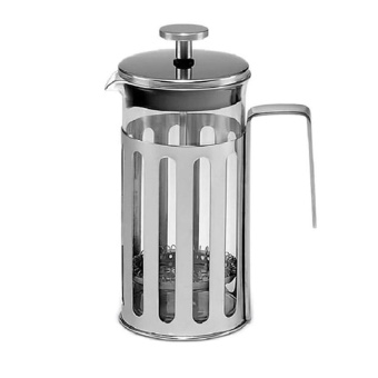 French Press Coffee Tea & Espresso Maker Coffee Press Pot w/Stainless Steel Coffee Plunger & Heat Resistant Glass(600ml) - intl