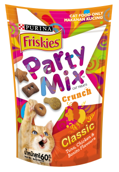 Friskies Party Mix Crunch Original 60G Pack Of 6