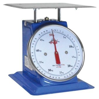 Fuji Mechanical Table Scale Flat Pan FTF-50 (Blue)