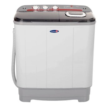 Fujidenzo 6.0 Kg Eco-Soak Wash Cycle Twin Tub JWT-601 (White)