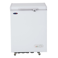 fujidenzo fc04 adf 4 cuft solid top chest freezers white