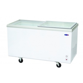 Fujidenzo FD-11 ADF 11 cu.ft. Glass Top Chest Freezer (White) Price Philippines