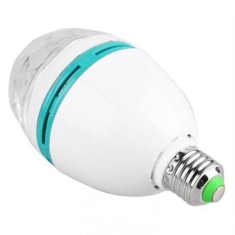 Full Color Screw Type Rotating Disco Lamp - 2