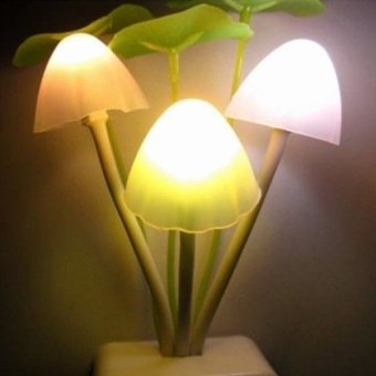GAKTAI LED Night light Creative Mushroom Bed Saving Sensor Light Lamp Romantic