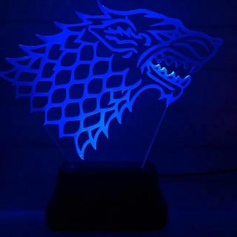 Game of Thrones 3D LED Lamp - 4