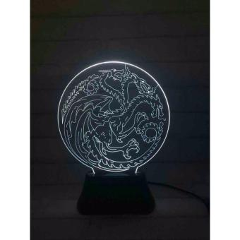 Game of Thrones 3D LED Lamp