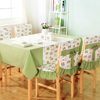 Garden dining chair seat dining table chair cover Fabric