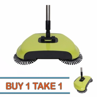 G@Best Buy One Take One 360 Rotary Home Use Magic Manual TelescopicFloor Dust Sweeper