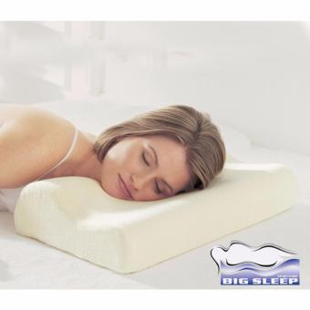 gbest high quality memory foam contour pillow white