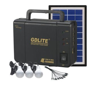 GDlite GD-8006-A Solar Lighting System (Black) Price Philippines