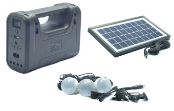 GDLITE GD-8028 Rechargeable & Solar Lightining System #0123 Price Philippines