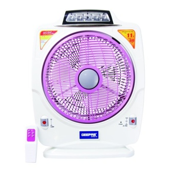 Geepas Rechargeable Fan With Remote