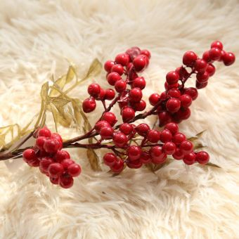 Gf15966 Christmas beans berry imitation flowers