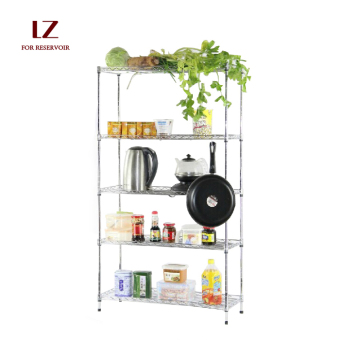 GFSDIY 80 cm x 25 cm 3-layer Stainless Steel Kitchen Rack