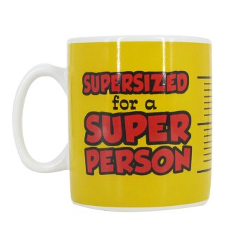 Giant Mug - Gigantic Supersized for a Super Person Mug (Yellow) Price Philippines
