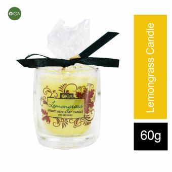 Giga Insect Repellant Candle with Beeswax Lemongrass 60gms