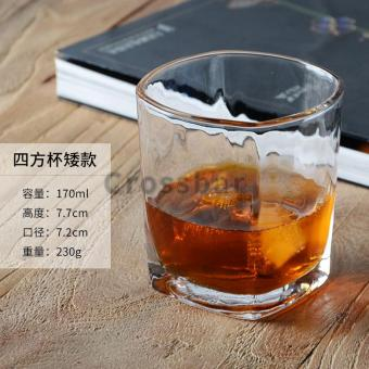 Glass beer glass whiskey cup