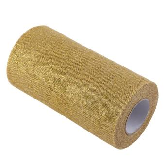 Glitter Tulle Roll Spool Fabric Party Supplies Decoration (Gold) - intl Price Philippines