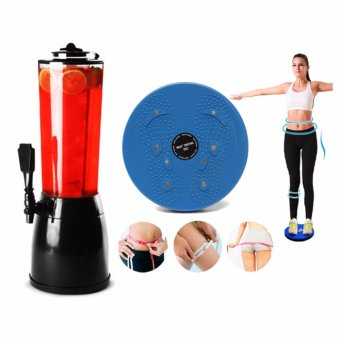 GMY New Ice Core Drink Beverage Dispenser Cold Juice Beer CocktailParty WITH 1 Magnet Balance Rotating Trimmer Fitness Core WaistTwisting Disc