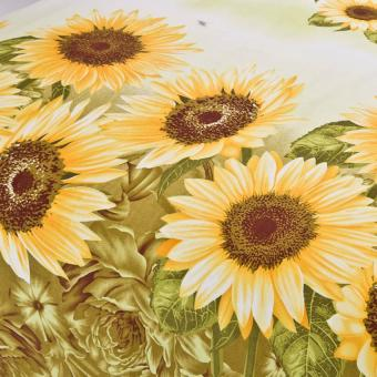 GoGoLife Cotton Home Quilt Cover Single/Full/Queen/King size-28#Sunflower - 2