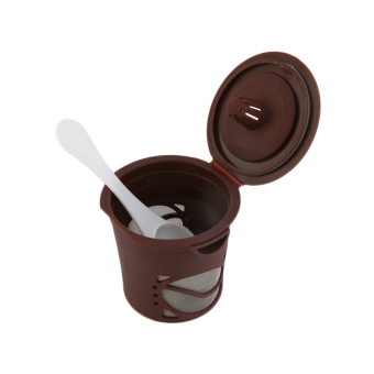 GOOD 1pc Refillable Coffee Capsules Pod For Nespresso Stainless Steel Filters