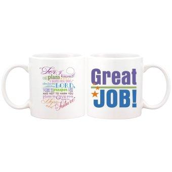 Great Job Statement Gift Mug (White)