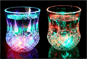 Greatnes D&D QCB-1 Creative Colorful Induction LED Luminescent Glass (Diamond) - 4