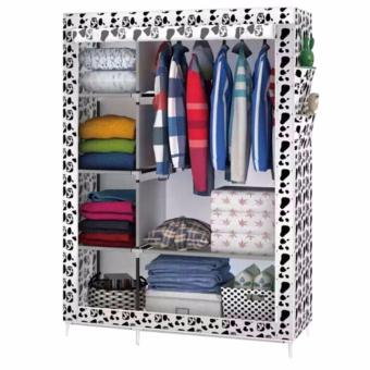 Greatnes XZY 1312 Storage Wardrobe and Clothes Organizer (White)