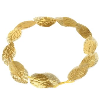 Greek Roman Goddess Gold Toga Leaves Laurel Wreath Head Band Party Dress Costume Price Philippines