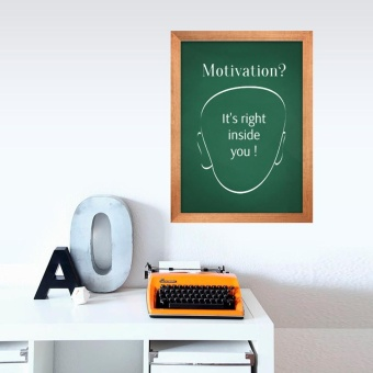 Green Chalk Board Blackboard Removable Vinyl Wall - intl