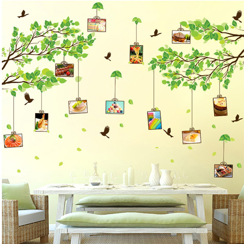 Philippines   Green leaves in the Primary Classroom decorative wall ...