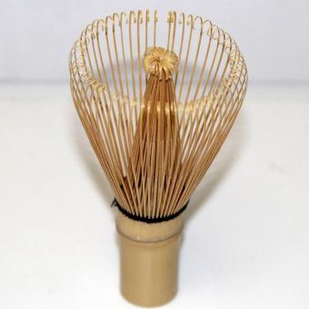 Green Tea Chasen Brush Tool Grinder Brushes Japanese CeremonyBamboo 64 Matcha Powder Whisk Brand Kitchen - intl - 4