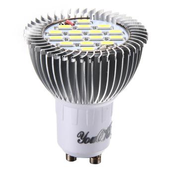 GU10 8W 750LM 6000K 16-SMD5630 White Light LED Bulb Lamp(AC220V) (Intl)