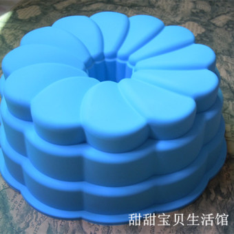 GUGELHUPF large in the hollow multi-layer-cake silicone Mold