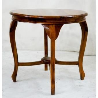 Handcrafted Solid Teak Wood Lenong Side / Coffee / Accent Table Furniture  (Gold Teak Series