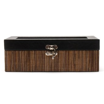 Handicraft 4-Compartment Watchbox (Lupis)