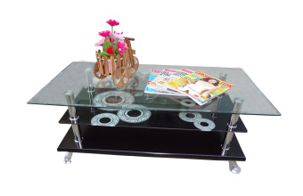 Hapihomes Dunkin Center / Coffee Table (GLASS)