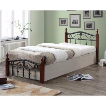"Hapihomes Mabyn ""36 x 75"" Bed Frame (Metal/Wood) Price Philippines"
