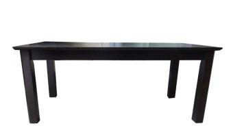 Hapihomes Nathan All Wood Center/Coffee Table (Wenge/Black) - 2