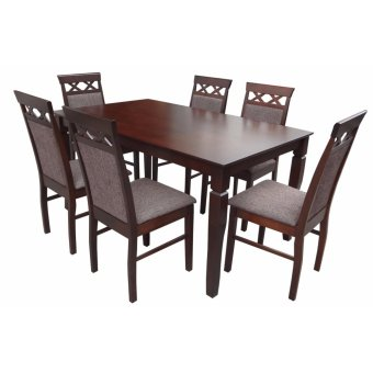 Hapihomes Vannah Smiles 6-Seater Dining Set Price Philippines