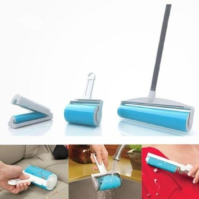 ... HappyLife 3-In-1 Schticky Washable Reusable Easy Sticky RollerBuddy Pickersticky Roller Cleaner Lint ...