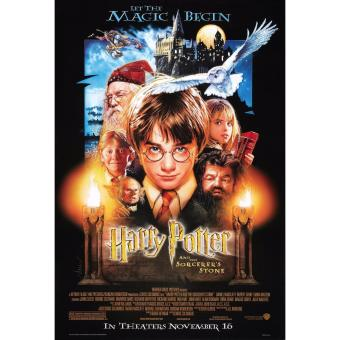 Harry Potter And The Sorcerer's Stone version A 14x20 inches Movie Poster
